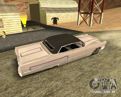 Cadillac DeVille Lowrider 1967 para GTA San Andreas vista traseira
