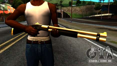 New Shotgun para GTA San Andreas terceira tela