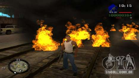 C-HUD by Kidd para GTA San Andreas sétima tela