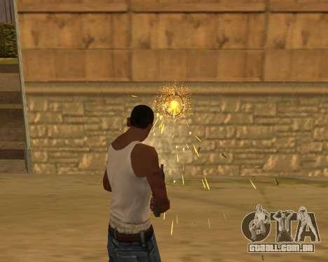 Ledios New Effects para GTA San Andreas segunda tela