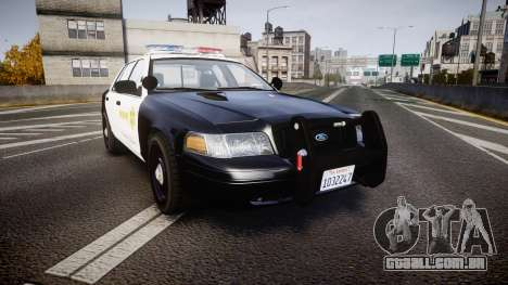 Ford Crown Victoria 2011 LASD [ELS] para GTA 4