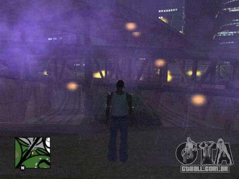 Praça de radar de GTA 5 para GTA San Andreas terceira tela