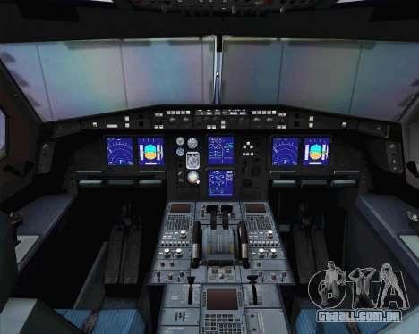 Airbus A330-300 Cathay Pacific para GTA San Andreas vista traseira