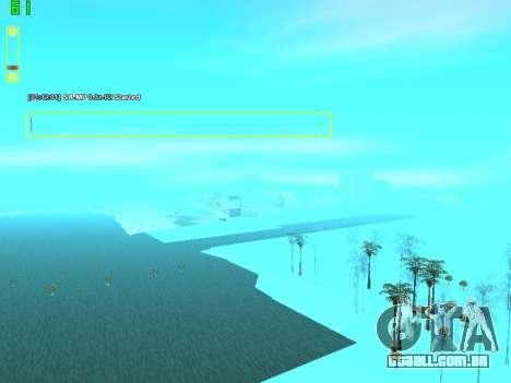 SampGUI Vagos Gang para GTA San Andreas terceira tela