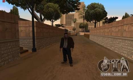 Animações do GTA 4 para GTA San Andreas terceira tela