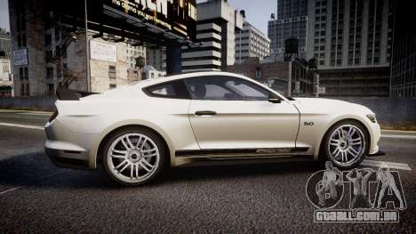 Ford Mustang GT 2015 SPEEDCREED para GTA 4 esquerda vista