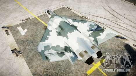 FA-38 camo para GTA 4 esquerda vista