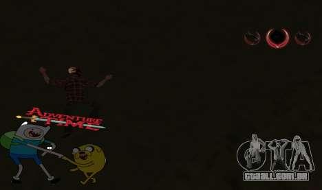 C-HUD Jack and Finn para GTA San Andreas terceira tela