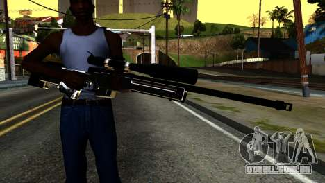 New Sniper Rifle para GTA San Andreas terceira tela