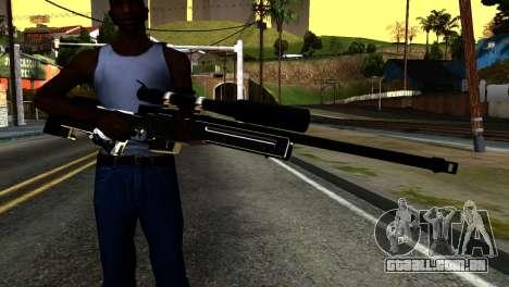 New Sniper Rifle para GTA San Andreas terceira tela