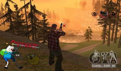 C-HUD Jack and Finn para GTA San Andreas segunda tela