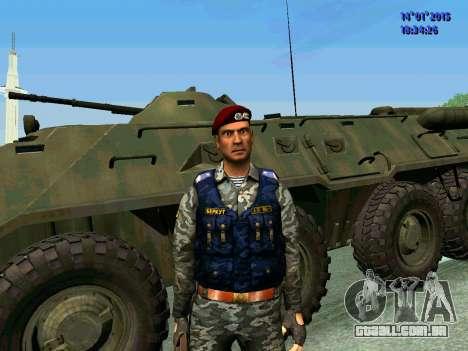 O Capataz Da Águia para GTA San Andreas segunda tela