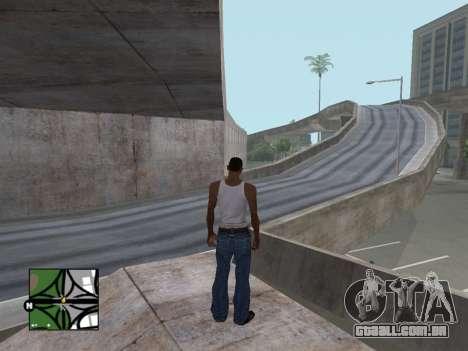 Praça de radar de GTA 5 para GTA San Andreas