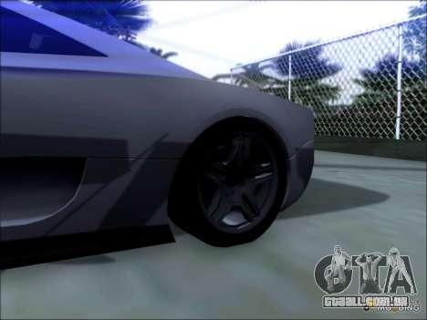 Scalfati GT (Watch Dogs) para GTA San Andreas traseira esquerda vista