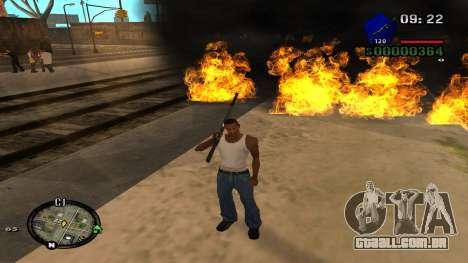 C-HUD by Kidd para GTA San Andreas quinto tela