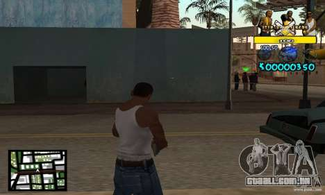 Tawer Getto HUD para GTA San Andreas
