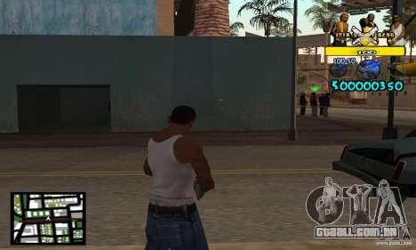 Tawer Getto HUD para GTA San Andreas