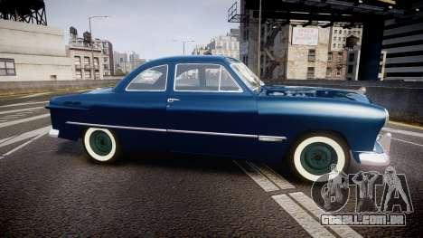 Ford Custom Club 1949 para GTA 4 esquerda vista