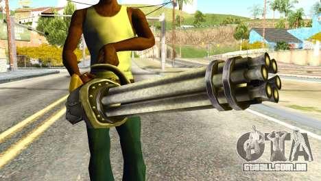 Minigun from Redneck Kentucky para GTA San Andreas terceira tela