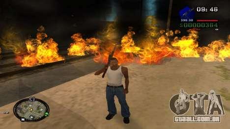 C-HUD by Kidd para GTA San Andreas sexta tela