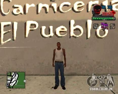 C-HUD Tawer Ghetto para GTA San Andreas segunda tela