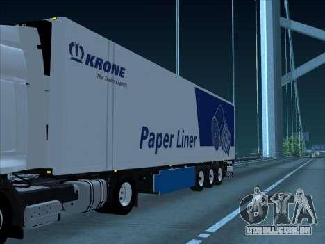 Krone para GTA San Andreas esquerda vista