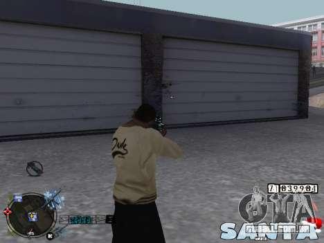 C-HUD Santa para GTA San Andreas terceira tela