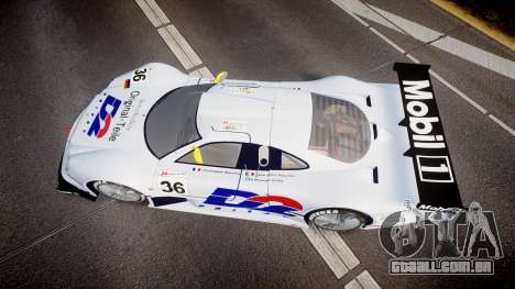Mercedes-Benz CLK LM 1998 PJ36 para GTA 4 vista direita