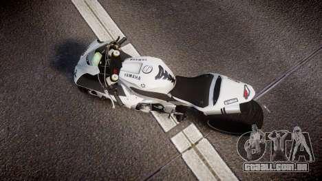 Yamaha YZF-R1 Custom PJ1 para GTA 4 vista direita