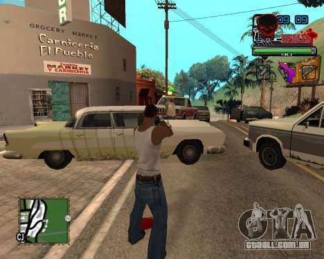 C-HUD Tawer Ghetto para GTA San Andreas terceira tela