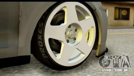 Volkswagen Bora GLI 2010 Tuned para GTA San Andreas traseira esquerda vista