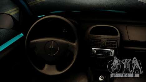 Renault Clio Beta v1 para GTA San Andreas vista direita