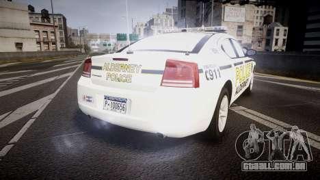 Dodge Charger 2006 Alderney Police [ELS] para GTA 4