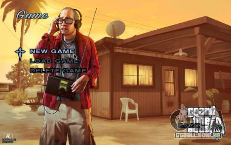 GTA 5 Menu para GTA San Andreas terceira tela