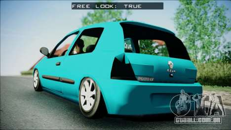 Renault Clio Beta v1 para GTA San Andreas esquerda vista