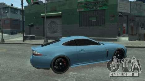 Jaguar XK v.2.0 para GTA 4 esquerda vista