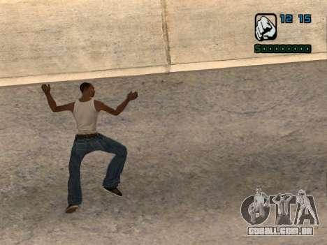Indicador numérico HP para GTA San Andreas segunda tela