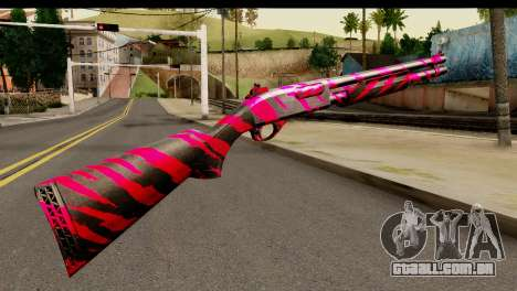Red Tiger Shotgun para GTA San Andreas segunda tela