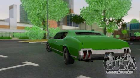 Sabre Limousine para GTA San Andreas vista direita