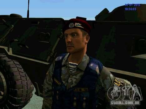 O Capataz Da Águia para GTA San Andreas quinto tela