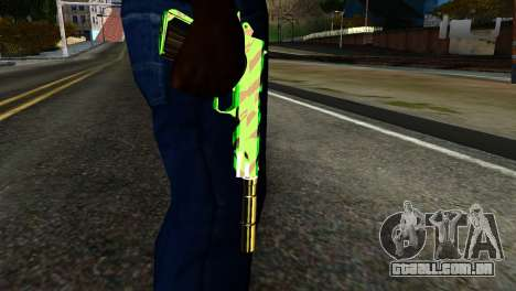 New Silenced Pistol para GTA San Andreas
