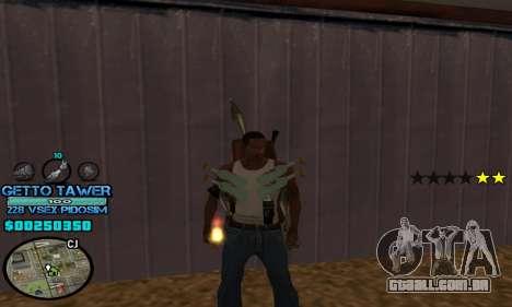 C-HUD Ghetto by Inovator para GTA San Andreas segunda tela