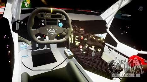 Nissan Skyline R34 2003 JGTC Pennzoil para GTA 4 vista de volta
