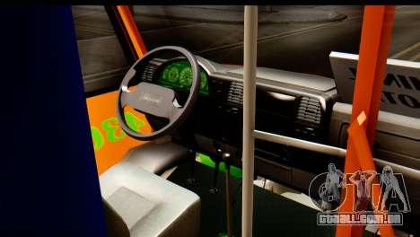 Dodge Ram Microbus para GTA San Andreas vista direita
