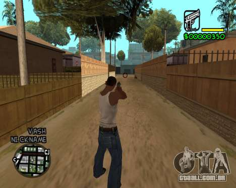 C-HUD by Tawerhudov para GTA San Andreas segunda tela