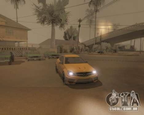 ENB by Robert v8.3 para GTA San Andreas décimo tela