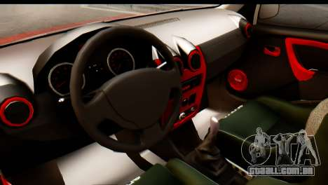Dacia Logan MXP para GTA San Andreas