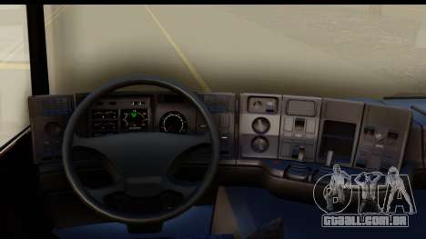 Scania P340 para GTA San Andreas vista interior