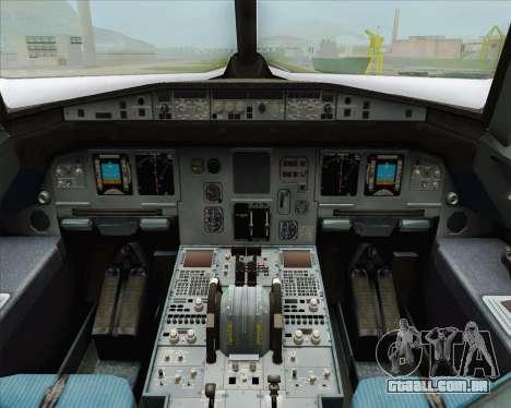 Airbus A320-200 LAN Argentina para GTA San Andreas vista direita