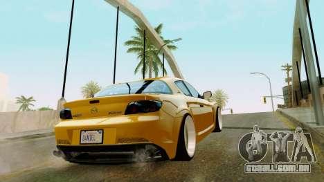 ENB Kenword Try para GTA San Andreas por diante tela